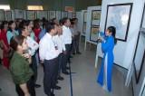 Tân Hưng triển lãm bản đồ và trưng bày tư liệu Hoàng Sa, Trường Sa của Việt Nam