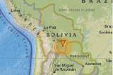 Bolivia rung chuyển vì trận động đất mạnh 6,8 độ Richter
