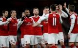 Ghi 4 bàn trong 35 phút, Arsenal đè bẹp CSKA Moscow