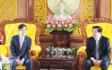 Tổng lãnh sự Hàn Quốc tại TP.HCM chào xã giao lãnh đạo tỉnh Long An