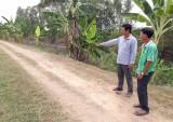 Nông dân hiến đất, góp sức làm đường giao thông