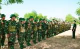 Một tháng huấn luyện chiến sĩ mới