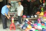 Chợ Bàu Trai chủ động phòng, chống cháy nổ