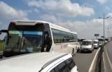 Tai nạn trên cao tốc Trung Lương-TP.HCM gây kẹt xe nghiêm trọng