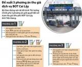 [Infographics] Đề xuất 5 phương án thu giá dịch vụ BOT Cai Lậy