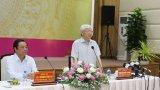 Tổng Bí thư Nguyễn Phú Trọng thăm, làm việc tại tỉnh Đồng Tháp
