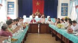 Hội Liên hiệp Phụ nữ huyện Cần Giuộc: Khó khăn trong thực Nghị quyết Trung ương 6
