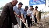 Vĩnh Hưng: Khởi công xây dựng cầu kênh Cả Gừa