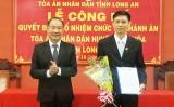 Bổ nhiệm Chánh án TAND huyện Mộc Hóa, Phó Chánh án TAND huyện Thạnh Hóa