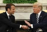 Tổng thống Trump đón Tổng thống Pháp, bàn ngay chuyện hạt nhân