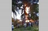 Gần 60 người thương vong trong vụ cháy giếng dầu ở Aceh, Indonesia