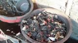 Đắk Nông: Hỗn hợp vỏ càphê nhuộm pin được dùng để trộn với hồ tiêu
