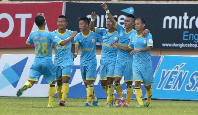Khánh Hòa ghi tên vào vòng tứ kết Cúp quốc gia 2018. Ảnh: D.H