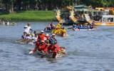 Thừa Thiên Huế: Đua thuyền truyền thống trên sông Hương