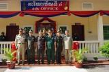 Quân đội Campuchia khánh thành tòa nhà làm việc do Việt Nam tài trợ