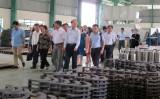 Phó Chủ tịch Ủy ban Trung ương MTTQ Việt Nam - Bùi Thị Thanh thăm doanh nghiệp tại Long An