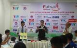Bốc thăm xếp lịch thi đấu Giải Futsal HDBank 2018