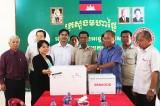Long An hỗ trợ vắc xin giúp tỉnh Svay Rieng phòng, chống dịch bệnh