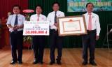 Nhơn Ninh đón nhận danh hiệu xã đạt chuẩn văn hóa