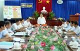 Phó Bí thư Thường trực Tỉnh ủy - Đỗ Hữu Lâm giám sát tại Cần Đước