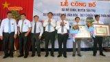 Mỹ Bình đón nhận danh hiệu xã văn hóa - nông thôn mới