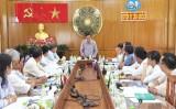 Phó Bí thư Thường trực Tỉnh ủy Long An giám sát việc thực hiện quy chế dân chủ ở cơ sở