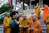 Chủ tịch Quốc hội Nguyễn Thị Kim Ngân chúc mừng lễ Phật đản tại TP.HCM