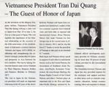 Báo Nhật Bản đưa tin về chuyến thăm của Chủ tịch nước tới Nhật Bản