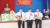 HĐND huyện Tân Trụ tổ chức kỳ họp bất thường bầu Chủ tịch UBND huyện