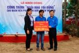 Trung ương Đoàn xây dựng Nhà nhân ái tại Thủ Thừa