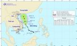 Áp thấp nhiệt đới cách Hoàng Sa 220km, có khả năng mạnh lên thành bão
