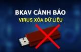 Cảnh báo virus xóa dữ liệu trên USB, lây nhiễm 1,2 triệu máy tính