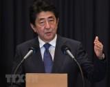 Thủ tướng Nhật Bản tới gặp Tổng thống Trump trước cuộc gặp Mỹ - Triều