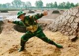 Tiểu đoàn Huấn luyện - Cơ động: Chú trọng huấn luyện chiến sĩ mới