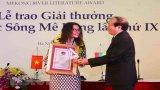 12 tác phẩm xuất sắc nhận Giải thưởng Văn học sông Mekong