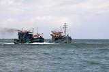 Malaysia bắt giữ 1 thuyền đánh cá và 6 ngư dân Việt Nam