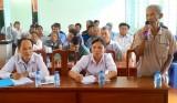 Cử tri Tân Thạnh: Quan tâm ổn định đầu ra nông sản