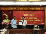 Ông Nguyễn Thái Học làm Phó trưởng Ban nội chính Trung ương