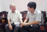 Thăm lãnh đạo, viên chức Báo Long An đã nghỉ hưu