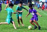 Khai mạc giải bóng đá cấp Tiểu học và THCS tỉnh Long An