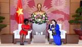 Chủ tịch Quốc hội tiếp Phó Chủ tịch Ngân hàng Thế giới châu Á -TBD
