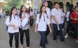 Đáp án chính thức môn Toán kỳ thi THPT Quốc gia năm 2018