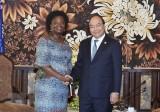 Thủ tướng Nguyễn Xuân Phúc tiếp lãnh đạo WB, ADB bên lề Hội nghị GEF6