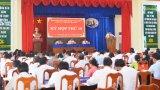 Khai mạc kỳ họp thứ 10, HĐND huyện Cần Giuộc khóa XI