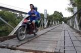 Đường tỉnh 831: Nguy hiểm rình rập từ những cây cầu sắt xuống cấp