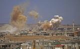 Chiến đấu cơ Nga và Syria tiếp tục không kích mạnh vào Daraa