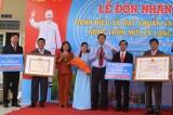 Xã Long An đón nhận danh hiệu xã văn hóa – nông thôn mới