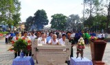 Dâng hương kỷ niệm 46 năm Ngày hy sinh Anh hùng Lực lượng vũ trang nhân dân - Liệt sĩ Nguyễn Thái Bình