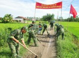 Đồn Biên phòng Bình Hòa Tây: Gắn việc học tập và làm theo gương Bác với nhiệm vụ của đơn vị