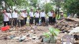 Hàng trăm căn nhà tại Cần Đước, Cần Giuộc bị thiệt hại do mưa dông
